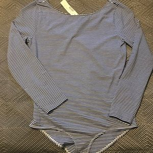 JCrew Long Sleeve bodysuit